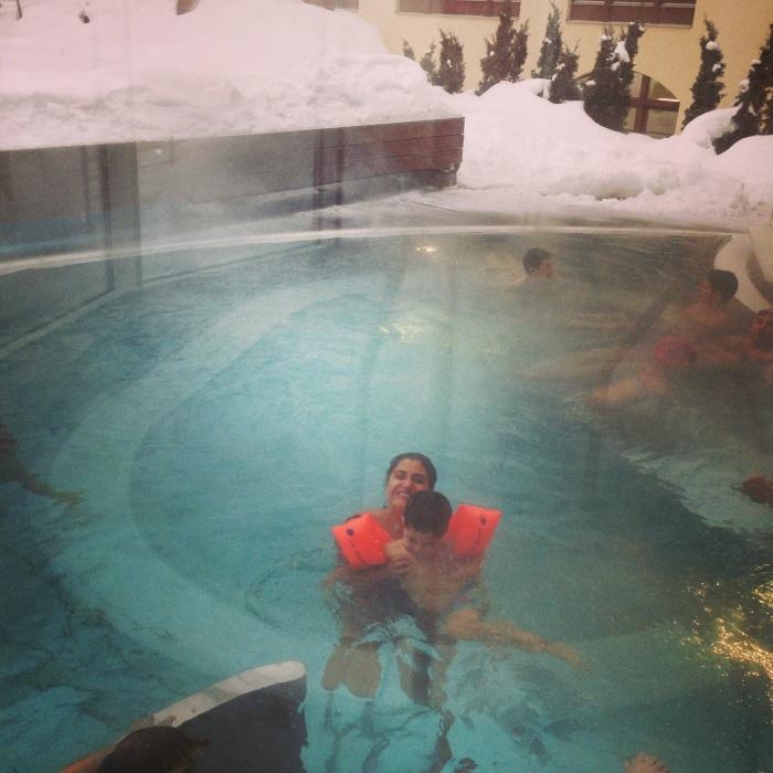 Zermatt piscina externa